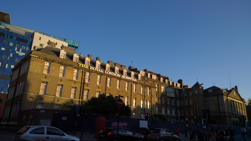 The Royal London Hospital di Whitechapel, Londra