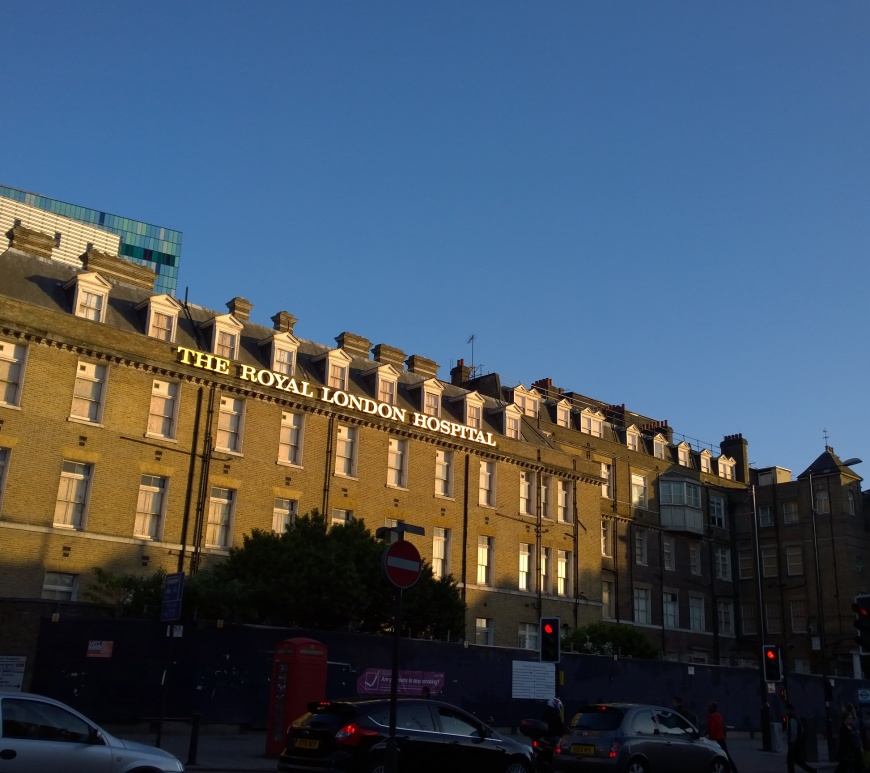 The Royal London Hospital di Whitechapel, Londra