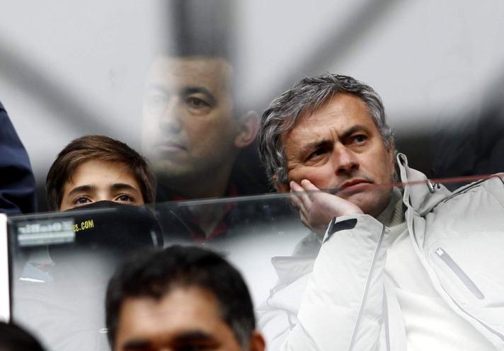 José Mourinho, tecnico del Manchester United
