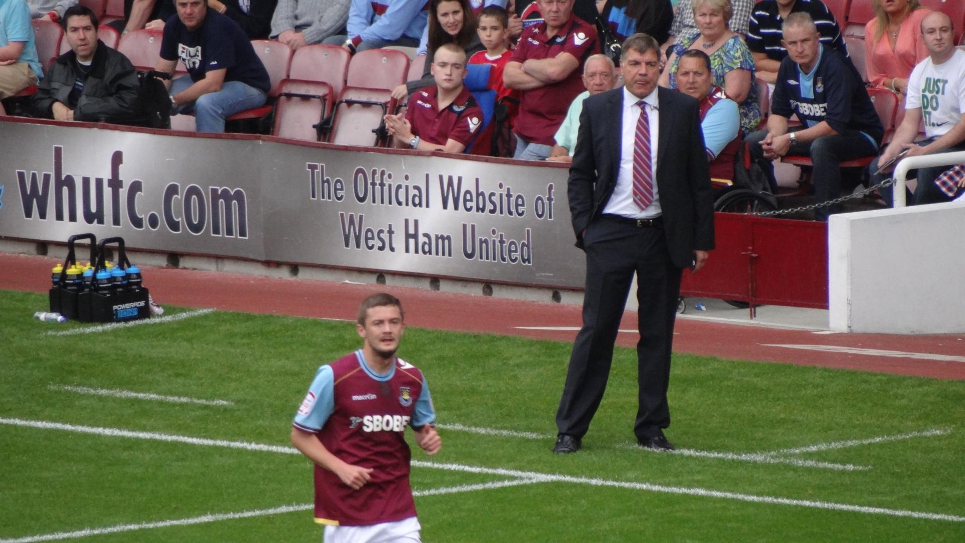 Sam Allardyce ai tempi del West Ham