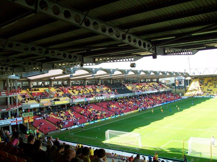 Lo stadio del Watforf