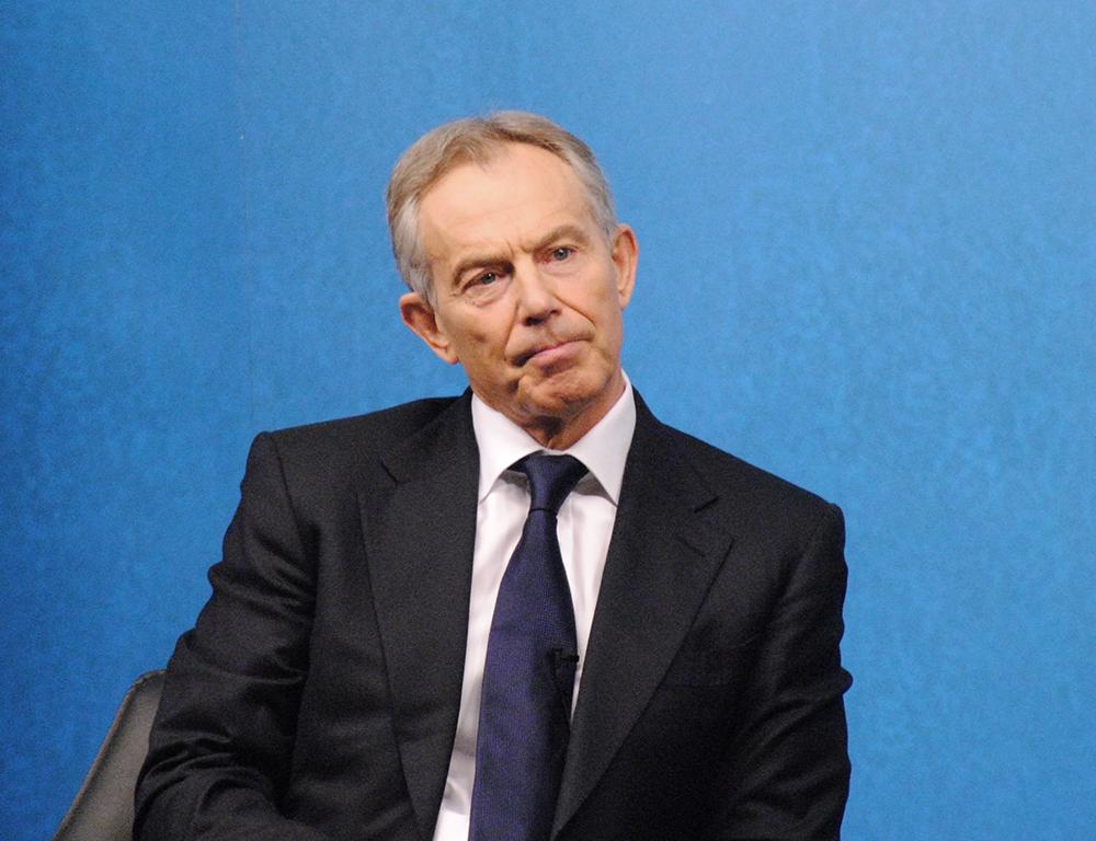 L'ex Premier britannico Tony Blair