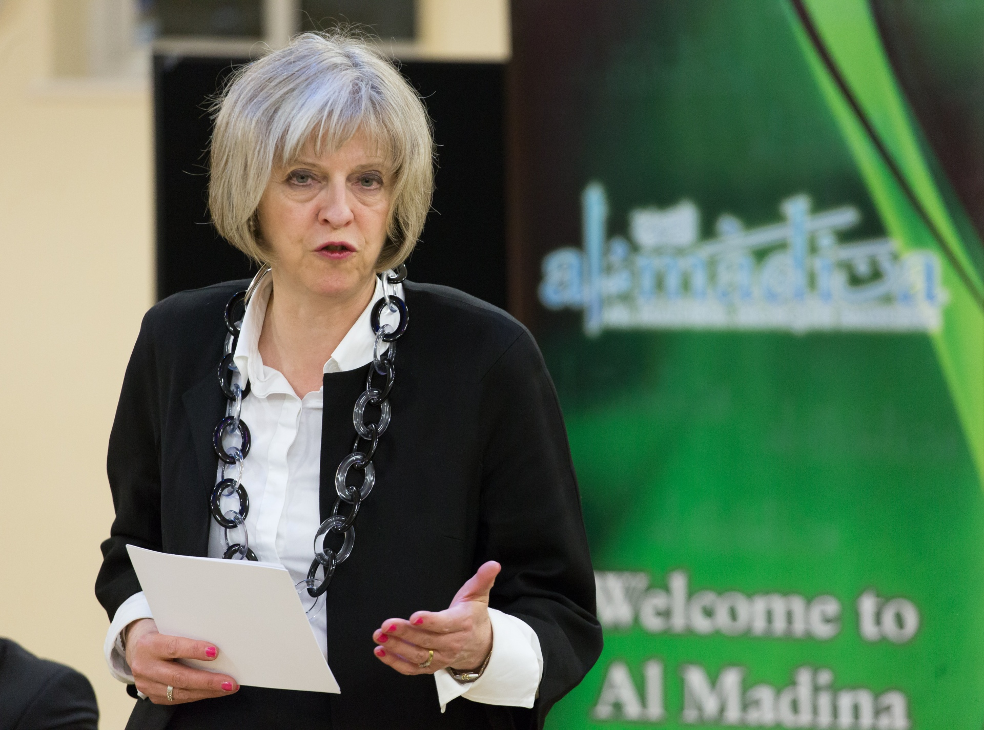La Premier britannica, Theresa May