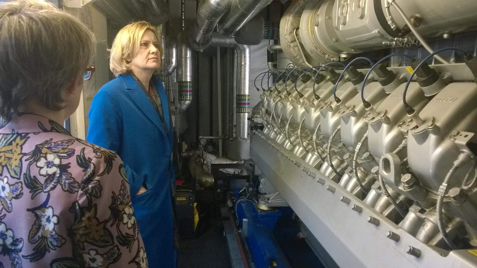 Il ministro dell'Interno britannico, Amber Rudd